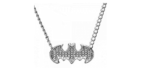 [BATMAN Logo Caviar Style NECKLACE] (Costume Caviar)
