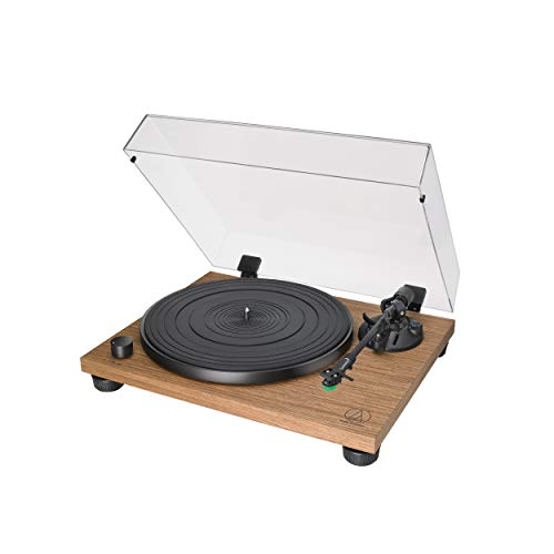 Audio-Technica AT-LPW40WN Fully Manual Belt-Drive Turntable (Best Budget Cartridge For Turntable)