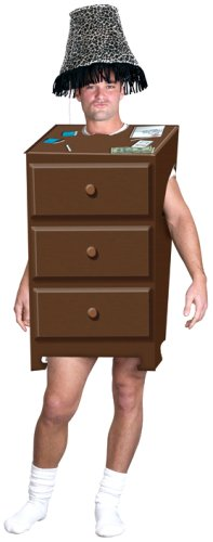 FunWorld Men's  Adult One Night Stand, Brown, One Size (One Night Stand Costume)