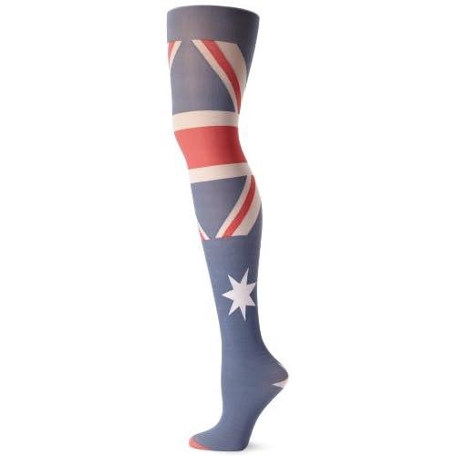 Pretty Polly Women's Australia Flag Tight - 31oB2jtUtwL. SS500 - Getting Down Under Socks and Hosiery