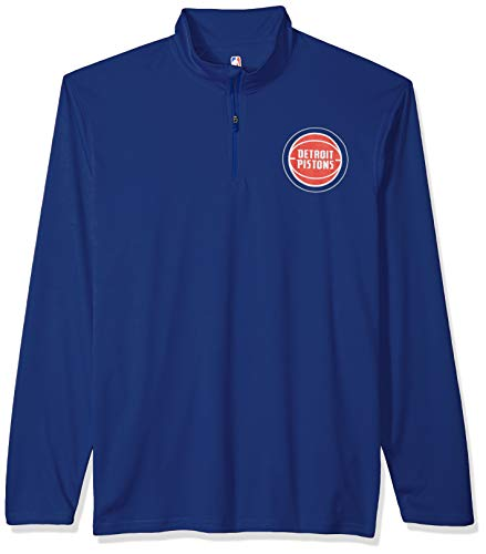 Men's Quarter Zip Pullover Shirt Athletic Quick Dry Tee, X-Large, Royal ()