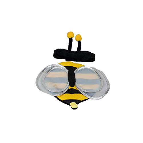Bow & Arrow Pet 557904L Bumble Bee with Wings with BL Harness Rider Set, Large -