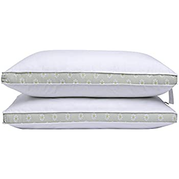 Amazon Com Puredown Down Alternative Bed Pillows Gusseted