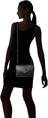 Liebeskind Berlin Damen Pepita Pearl Umhängetasche, 4x12x15 cm Schwarz (Black)
