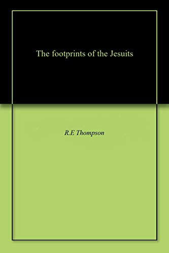 The footprints of the Jesuits for sale  Delivered anywhere in USA