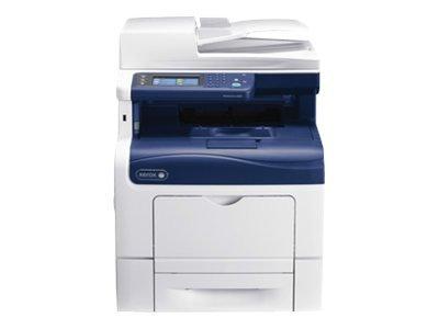 Xerox WorkCentre 6605N Laser Multifunction Printer - Color - Plain Paper Print - Desktop - Copier/Fax/Printer/Scanner - 36 ppm Mono/36 ppm Color Print - 1200 x 1200 dpi Print - 36 cpm Mono/36 cpm Color Copy - Touchscreen - 1200 dpi Optical Scan - 600 shee