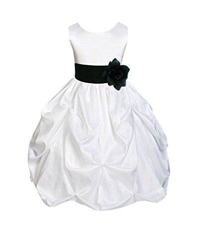 4t black and white dress - 1