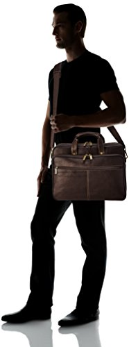 8ce967fea187 Jual Heritage Travelware Colombian Leather Dual Compartment Top Zip ...