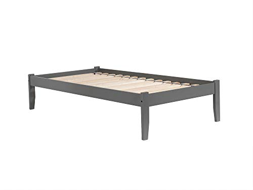 Atlantic Furniture AR8031009 Concord Bed, Full, Grey