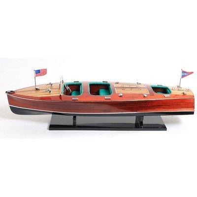 (Chris Craft Triple Cockpit Painted Boat)