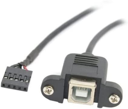 Cable USB 2.0 Tipo B Hembra DE 20 cm para Placa de Impresora DE 2 ...