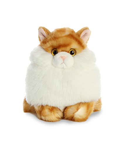 Aurora World Fat Cats Plush Toy Animal, Butterball Tabby
