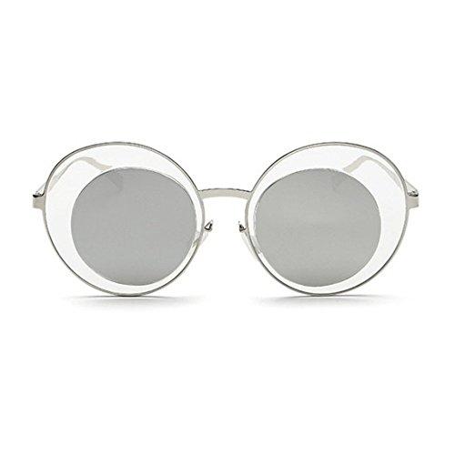 Aoligei Paire de couple dame lunettes de soleil rue Pat de lunettes de soleil hommes gros code conduite lunettes E