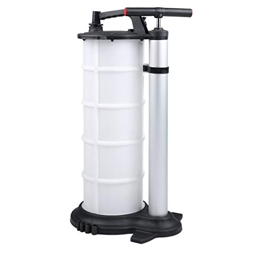 CATUO 9 Liter Fluid Evacuator with 3 Tubes, Universal Heavy Duty Manual Oil Pump Extractor Fluid Transfer for DIY Oil Change - 9L by CATUO (Image #2)