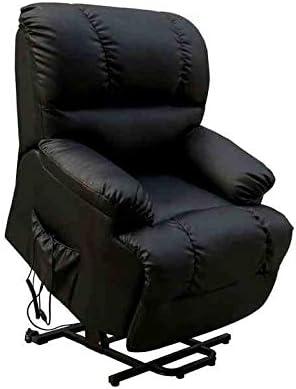 JRD Fauteuil de Massage Relaxation l/ève des Personnes Beige