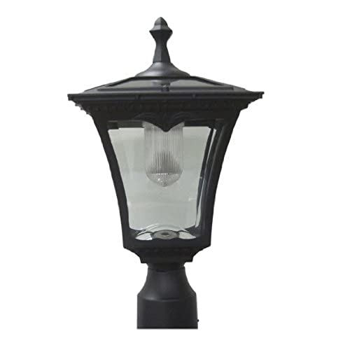 Lilyu0027s Home Solar Lamp Post Light   Coach Light With A Deck Mount
