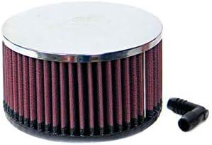 K N Ra 066v Waschbarer Und Wiederverwendbarer Kfz Und Motorrad Universal Chrom Filter Auto