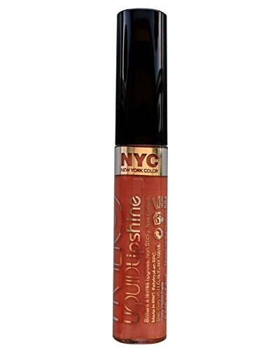 NYC Liquid Lipshine Lip Gloss 7.2ml-584 Honey On The Hudson