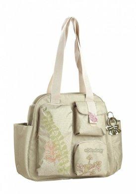 Pistachio Diaper Bag - Okiedog Nature Namaste Bag, Baby Bag, Pistachio Green