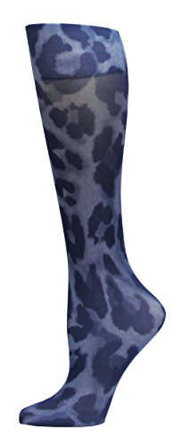 Denim Rhino - Complete Medical Blue Jay Fashion Socks 8-15 mmHg, Cougar Denim, 1 Pound