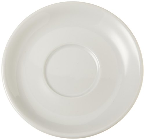 Tognana Albergo 6-1/4-Inch Saucer for Large Cappuccino Cup, 6-Piece