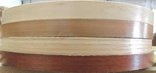 (Prefinished wood veneer edgebanding Birch Maple Red Oak in 7/8