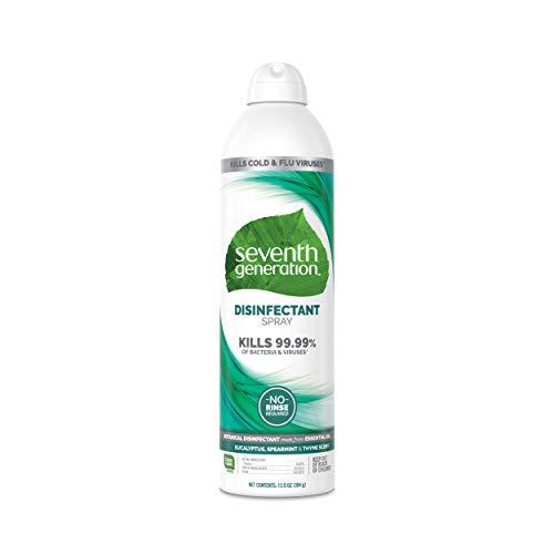Seventh Generation, Disinfectant Spray Eucalyptus Mint Thyme, 13.9 Ounce