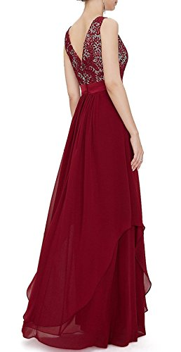 Red Dresses Evening Long Dress Lace Party Prom Bridal Anna's tfq8vv