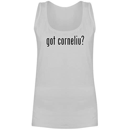 - The Town Butler got Corneliu? - A Soft & Comfortable Women's Tank Top, White, X-Large