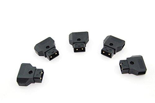 (5pcs D-Tap Connector Jack Plug for Photography Power V-mount Gold Mount Battery)