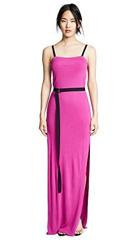 Yigal Azrouel Women's Cinched Waist Dress, Hot Pink, 8