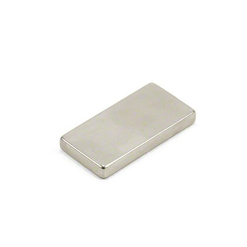 Magnet Expert 40 x 20 x 5mm thick Ultra High Performance N52 Grade Neodymium Magnet - 15.1kg Pull (Pack of 1)