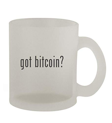 got bitcoin? - 10oz Frosted Coffee Mug Cup, Frosted