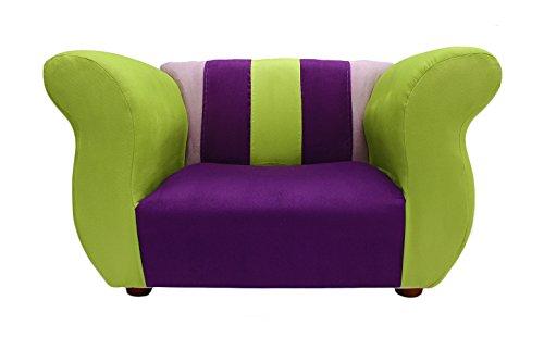 KEET Fancy Kid's Chair, Purple/Green by Keet