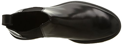 Dr. Martens WILDE Polished Smooth - Botas de cuero para hombre Schwarz (Black)