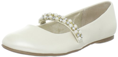 Kids Bone - Nina Nataly Ballet Flat (Little Kid/Big Kid),Bone,1 M US Little Kid