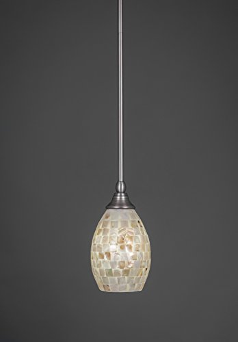 Concord Ceiling Pendant - Concord 1-Light Brushed Nickel Incandescent Ceiling Pendant