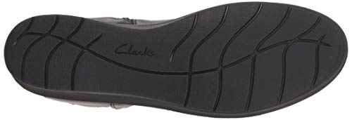 Play Fashion Clarks 080 textile Us M Boot Hope Black Women's Leather qwRPBEA