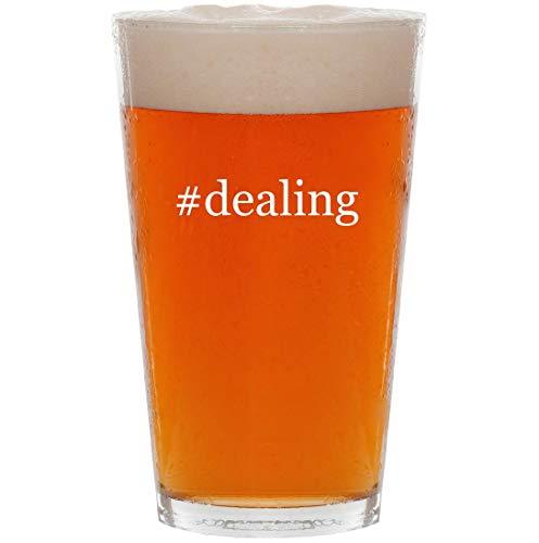 #dealing - 16oz Hashtag All Purpose Pint Beer Glass (Best Flight Credit Card Deals)