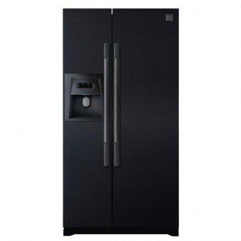 DAEWOO DRS30DSMB American-Style Fridge Freezer - Black: Amazon.co.uk