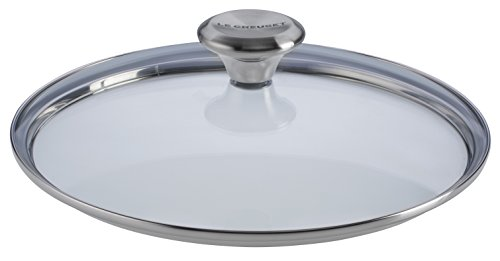 Le Creuset Lid (Le Creuset of America Paella Pan Glass Lid with Steam Vent, 13 1/2