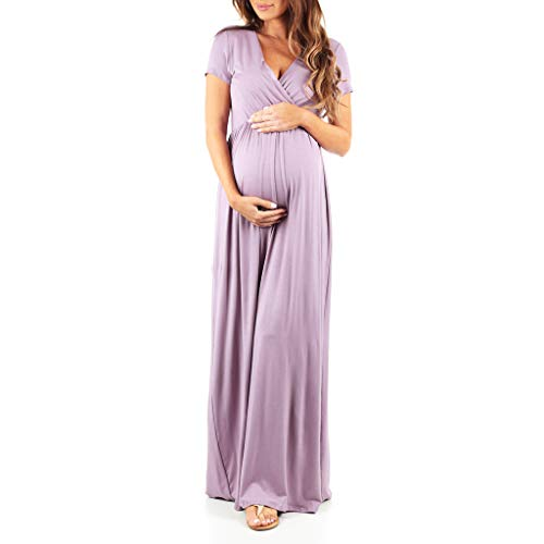 Maternity Short Sleeve Dress - Made in USA ()