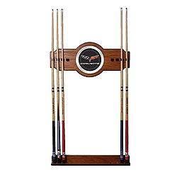 - Corvette C6 2 piece Wood and Mirror Wall Cue Rack Corvette C6 2 piece Wood and M