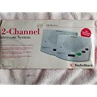 RADIO SHACK WIRELESS FM 2-CHANNEL INTERCOM SYSTEM # 430-3106