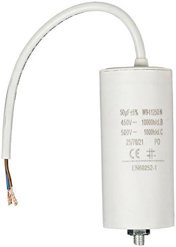 Fixapart W9 11250n Fixed Kapazität Zylinder Weiß Kondensator