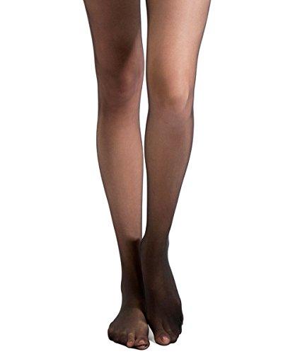 Conte Elegant Womens Bikini Pantyhose Tights - 20 Denier,Black (Nero),Medium