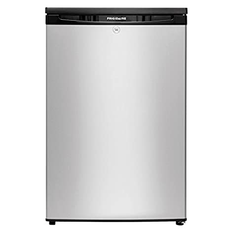 Frigidaire 4.5 Cu Ft Freestanding Compact Refrigerator With Freezer  Compartment (Silver Mist) ENERGY