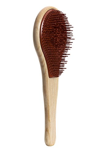 Michel Mercier Detangling Brush Wood Crafted Normal Hair (Normal Hair) by Michel Mercier