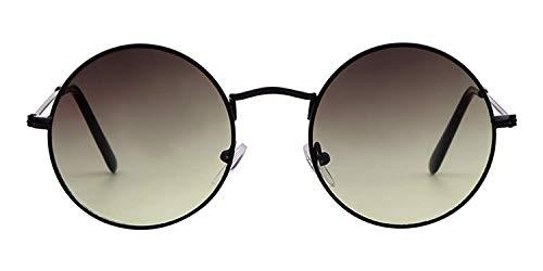 Eyeglasses Summer Retro Round Sunglasses Men Women NEW Vintage Circle Black Red