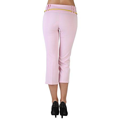 Extyn - Pantalón - Capri - para mujer rosa rosa